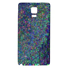 Glitch Art Galaxy Note 4 Back Case