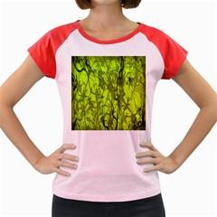 Concept Art Spider Digital Art Green Women s Cap Sleeve T Shirt