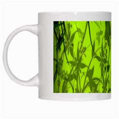 Concept Art Spider Digital Art Green White Mugs
