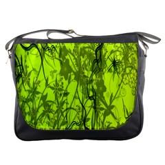 Concept Art Spider Digital Art Green Messenger Bags
