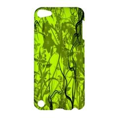 Concept Art Spider Digital Art Green Apple Ipod Touch 5 Hardshell Case