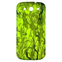 Concept Art Spider Digital Art Green Samsung Galaxy S3 S III Classic Hardshell Back Case