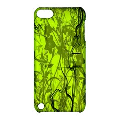 Concept Art Spider Digital Art Green Apple iPod Touch 5 Hardshell Case with Stand