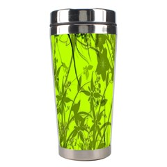 Concept Art Spider Digital Art Green Stainless Steel Travel Tumblers