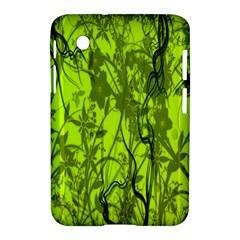 Concept Art Spider Digital Art Green Samsung Galaxy Tab 2 (7 ) P3100 Hardshell Case