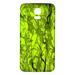 Concept Art Spider Digital Art Green Samsung Galaxy S5 Back Case (white)