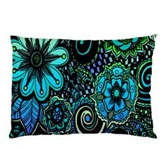 Sun Set Floral Pillow Case
