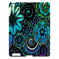 Sun Set Floral Apple iPad 3/4 Hardshell Case