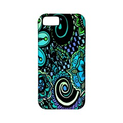 Sun Set Floral Apple iPhone 5 Classic Hardshell Case (PC+Silicone)