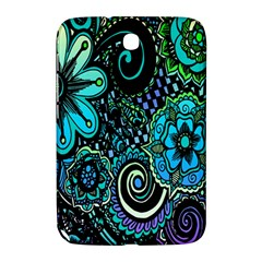 Sun Set Floral Samsung Galaxy Note 8.0 N5100 Hardshell Case