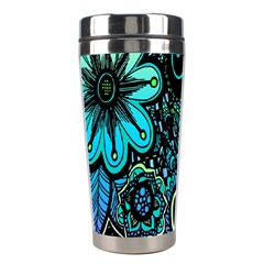 Sun Set Floral Stainless Steel Travel Tumblers