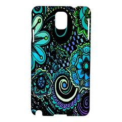 Sun Set Floral Samsung Galaxy Note 3 N9005 Hardshell Case