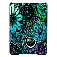 Sun Set Floral iPad Air Hardshell Cases