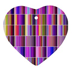 Plasma Gradient Gradation Ornament (Heart)