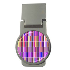 Plasma Gradient Gradation Money Clips (round)