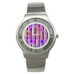 Plasma Gradient Gradation Stainless Steel Watch