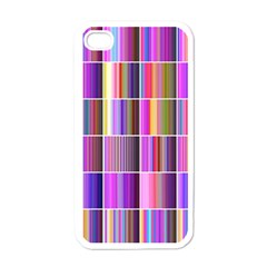 Plasma Gradient Gradation Apple Iphone 4 Case (white)