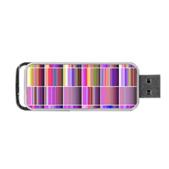 Plasma Gradient Gradation Portable USB Flash (One Side)