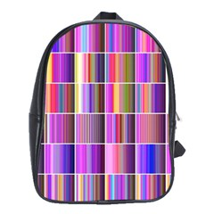 Plasma Gradient Gradation School Bags (XL)