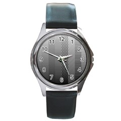 Semi Authentic Screen Tone Gradient Pack Round Metal Watch