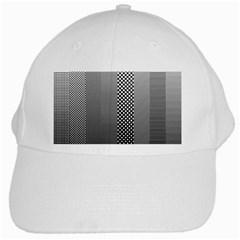 Semi Authentic Screen Tone Gradient Pack White Cap