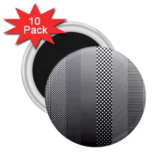 Semi Authentic Screen Tone Gradient Pack 2.25  Magnets (10 pack)