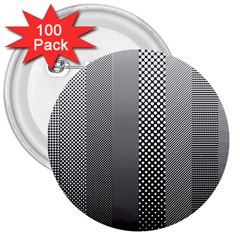 Semi Authentic Screen Tone Gradient Pack 3  Buttons (100 Pack)