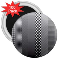 Semi Authentic Screen Tone Gradient Pack 3  Magnets (100 Pack)