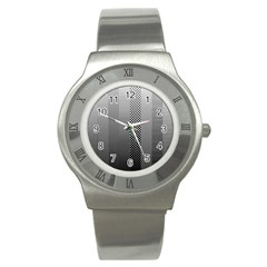 Semi Authentic Screen Tone Gradient Pack Stainless Steel Watch