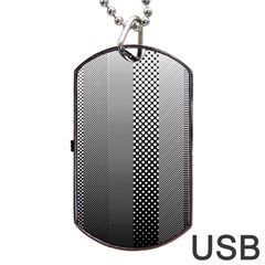 Semi Authentic Screen Tone Gradient Pack Dog Tag Usb Flash (two Sides)