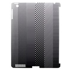Semi Authentic Screen Tone Gradient Pack Apple iPad 3/4 Hardshell Case (Compatible with Smart Cover)