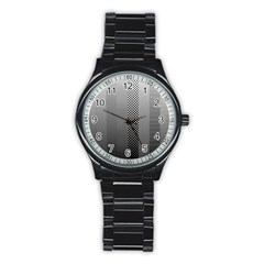 Semi Authentic Screen Tone Gradient Pack Stainless Steel Round Watch