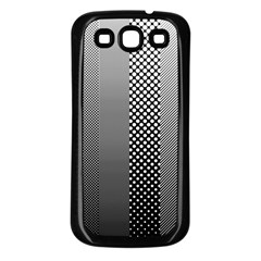 Semi Authentic Screen Tone Gradient Pack Samsung Galaxy S3 Back Case (Black)