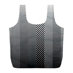 Semi Authentic Screen Tone Gradient Pack Full Print Recycle Bags (L)