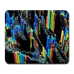 Abstract 3d Blender Colorful Large Mousepads