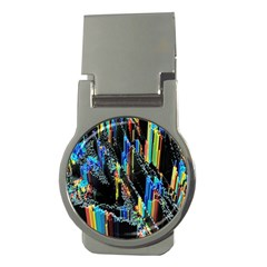 Abstract 3d Blender Colorful Money Clips (round)