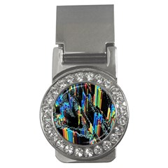 Abstract 3d Blender Colorful Money Clips (cz)