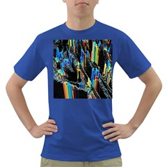 Abstract 3d Blender Colorful Dark T-Shirt