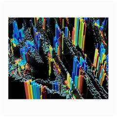 Abstract 3d Blender Colorful Small Glasses Cloth