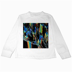 Abstract 3d Blender Colorful Kids Long Sleeve T-Shirts