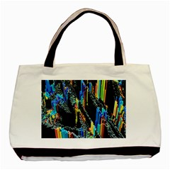 Abstract 3d Blender Colorful Basic Tote Bag (two Sides)