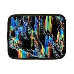Abstract 3d Blender Colorful Netbook Case (Small)