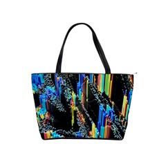 Abstract 3d Blender Colorful Shoulder Handbags