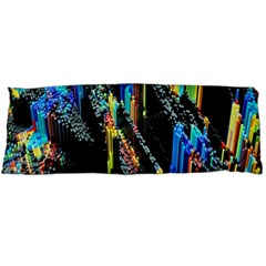 Abstract 3d Blender Colorful Body Pillow Case Dakimakura (Two Sides)