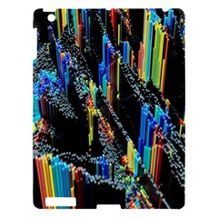 Abstract 3d Blender Colorful Apple iPad 3/4 Hardshell Case