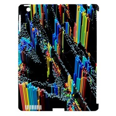 Abstract 3d Blender Colorful Apple iPad 3/4 Hardshell Case (Compatible with Smart Cover)