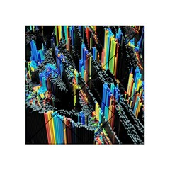 Abstract 3d Blender Colorful Acrylic Tangram Puzzle (4  x 4 )