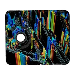 Abstract 3d Blender Colorful Galaxy S3 (Flip/Folio)