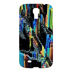 Abstract 3d Blender Colorful Samsung Galaxy S4 I9500/I9505 Hardshell Case