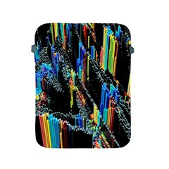 Abstract 3d Blender Colorful Apple iPad 2/3/4 Protective Soft Cases